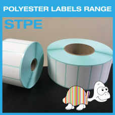White Polyester Labels 25.4mm x 12.7mm